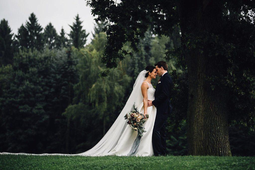 Hochzeit Dusty Blue & Gold, Hoher Darsberg