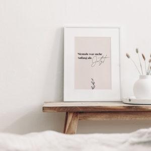 "Print ""Der Anfang"""